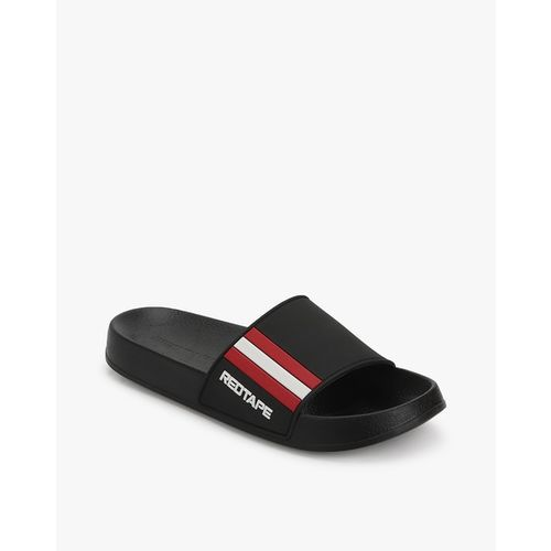 RED TAPE Flip-Flops with Contrast Panels