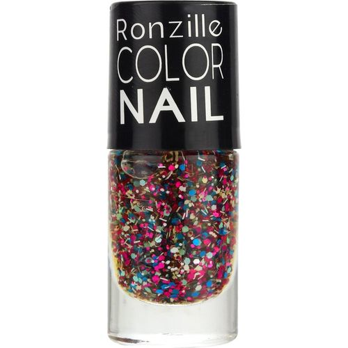 Ronzille Exclusive Glitter Nail Polish Periwinkle Spring v