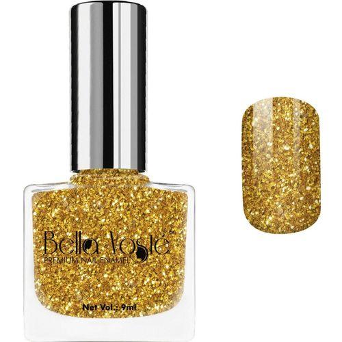 Bella Voste Premium Nail Enamel GOLDEN GLITTER