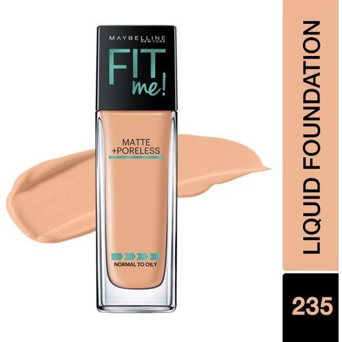 MAYBELLINE NEW YORK Fit Me Liquid Foundation 235 Pure Beige Foundation(Pure Beige, 30 ml)