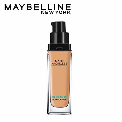 Maybelline New York Fit Me Matte+Poreless Liquid Foundation (With Pump), 332 Golden caramel, 30ml