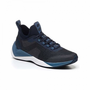 Lotto Men's Escape AMF Basketball Shoes (Dark Blue/Cool Gray 11C)_UK/IND-10