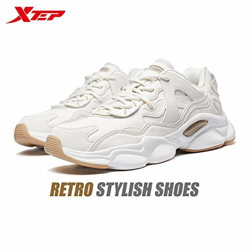 XTEP Men's Flash Phylon Midsole Support with TPU Sole Cushioning Casual Shoes