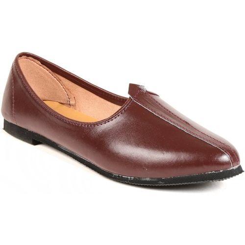 gofits punjabi jutti, nagra, nagra shoes, kurta shoes, shoes for kurta pajamas, juti, jalsa, mojari Mojaris For Men(Brown)