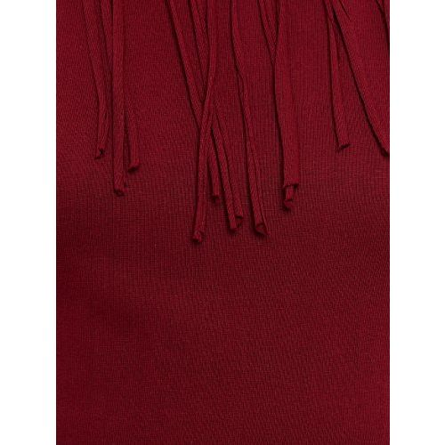 Miss Chase Women's Sleeveless Cotton Round Neck Mini Bodycon Dress