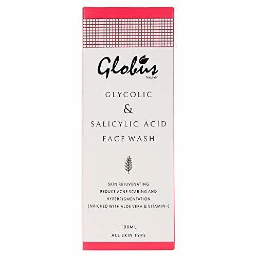 Globus Naturals Pimple Clear Glycolic & Salicylic Acid Face Wash (100ml)
