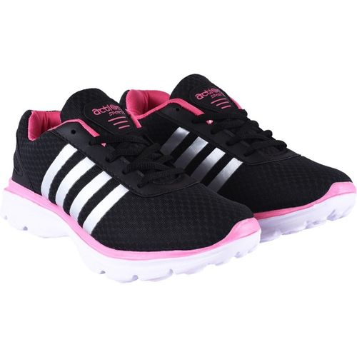 Action Running Shoes For Women(Black, Pink)