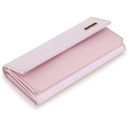 Exotic Women Pink Artificial Leather Wallet(5 Card Slots)