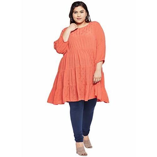 aLL Plus Size All Women's Plain Regular fit Top