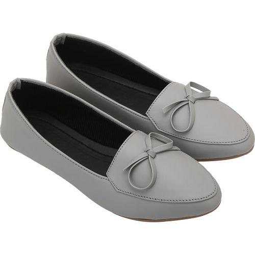 RAVIS Women Grey bellies Slip On For Women(Grey)