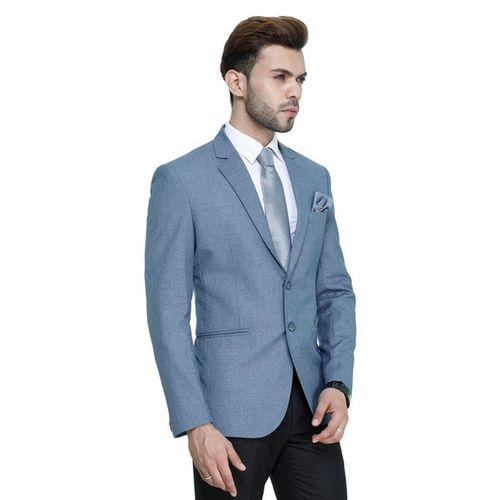 MANQ Full Sleeves Blazer with Applique