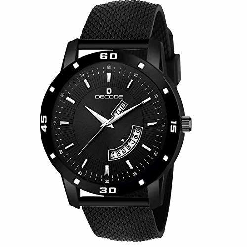 Decode Men's Analog Watch (Black Colored Strap)