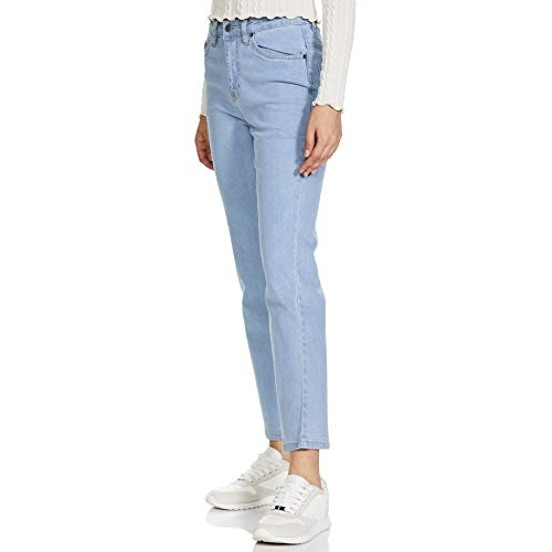 AKA CHIC Sky blue Women's Straight Fit Jeans