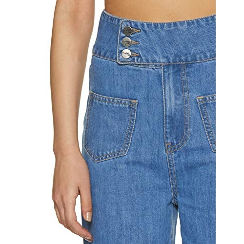 AKA CHIC Blue Women's Flared Jeans
