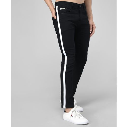 UNITED DENIM Slim Men Black Jeans