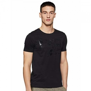 Spykar Men's Solid Slim fit T-Shirt