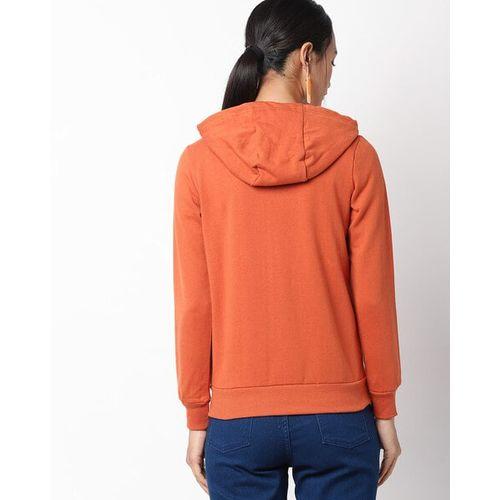 Teamspirit Zip-Front Hooded Sweatshirt with Kangaroo Pockets