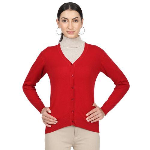 Monte Carlo v-neck woolen cardigan