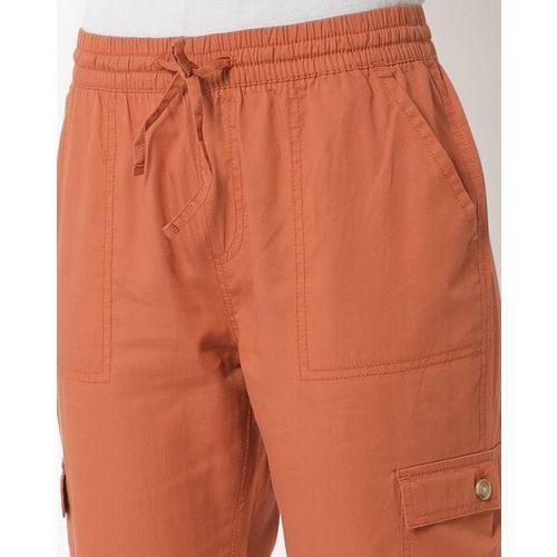 RIO Cropped Cuffed Cargo Pants
