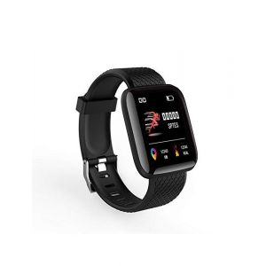 HUG PUPPY Smart Fitness Watch ID116 for Men and Women