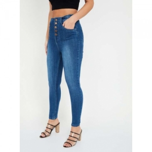 GINGER Stonewashed Skinny Fit Jeans