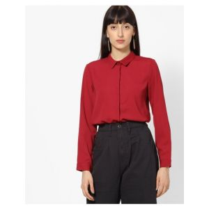Slim Fit Shirt with Concealed Placket