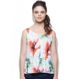United Colors of Benetton Multicoloured Printed Top