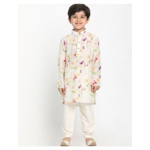 Champion Floral Print Kurta Pyjama Set