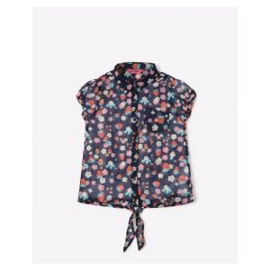 Printed Shirt Top