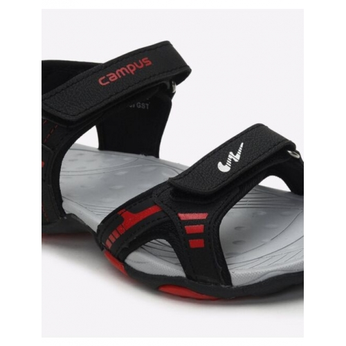 Flat Sandals with Velcro Closure
