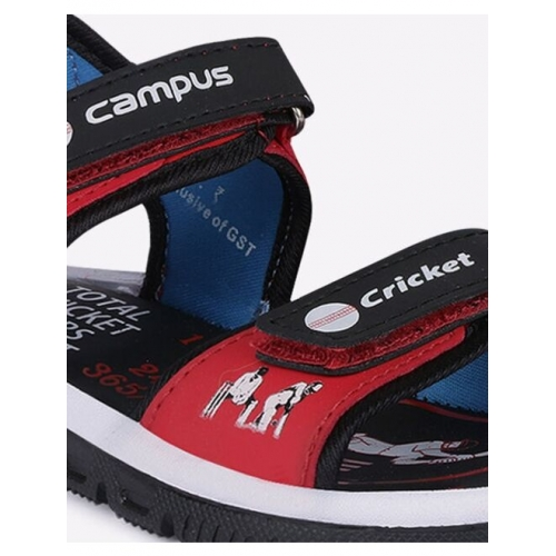 Printed Sports Sandals with Velcro