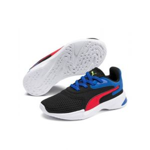 Puma Textured Low-Top Lace-Up Sports Shoes