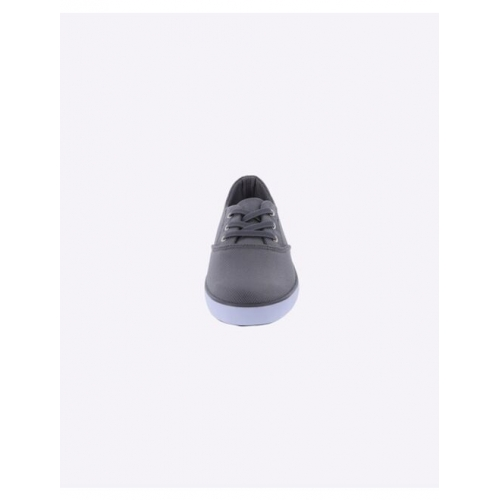 Textured Panelled Lace-Up Casual Shoes