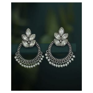 Sukkhi Stone Studded Chandbalis