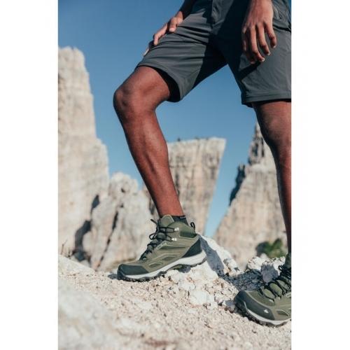 Quechua Mens Hiking Shoes (WATERPROOF) MH100 - Khaki