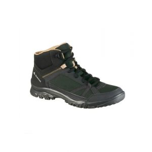 Forest Mens Country walking boots NH100 Mid