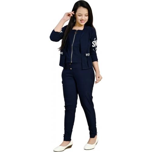 Belfry Dark Blue Cotton Lycra Blend Maxi Full Length Casual Dress
