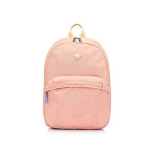 American Tourister Peach Polyster Casual Backpack