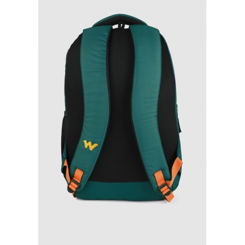 Wildcraft Unisex Teal Green Polyster Solid Backpack