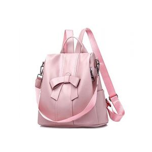 Simplegals Women/Girls Backpack 10 L Baby Pink Casual Backpack (Pack of 1)
