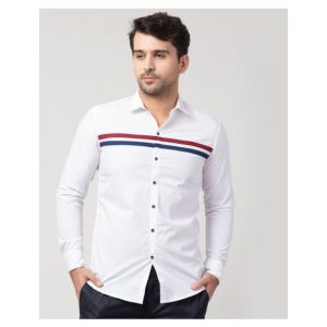 Placement Striped Shirt