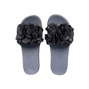 grey slip on flip flop