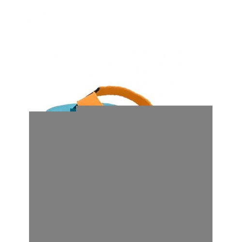 yellow slip on flip flop