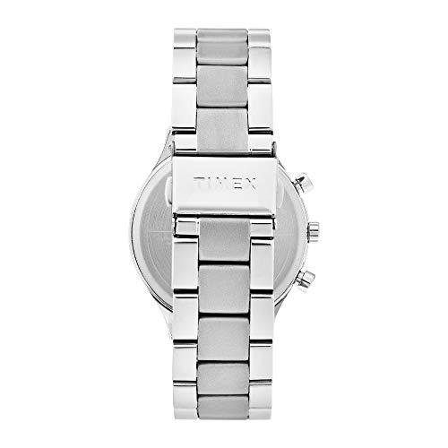 TIMEX TWHG03SMU04 Stainless Steel Round Shape Analog Black Dial Watch