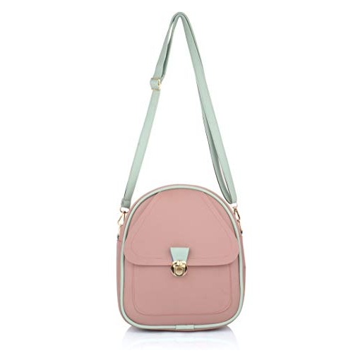 Mammon Girls PU Leather Backpack sling for Women
