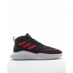 ADIDAS Black Lace-Up Basketball Shoes