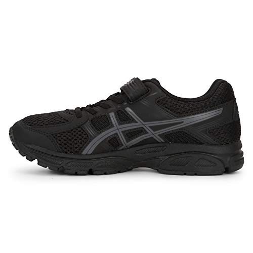ASICS Black Coloured Kids Sports Shoes