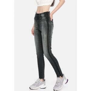 Pepe Jeans Women Black Olivia Dion Skinny Fit High-Rise Clean Look Stretchable Jeans
