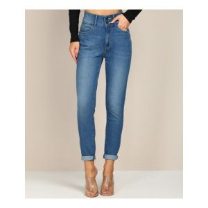 FLYING MACHINE Super Skinny Women Blue Jeans