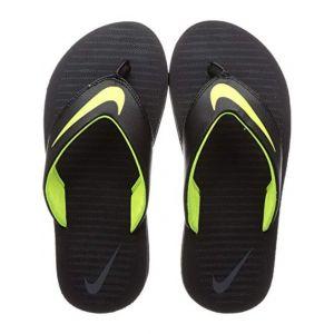 Nike Men's Chroma Thong 5 Black Slipper-8 UK (833808-013)